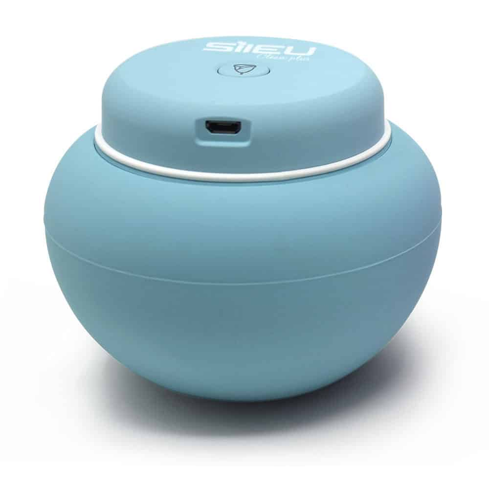 Sileu Clean Plus - Portable USB Rechargeable Electric Sterilizer for  Menstrual Cups - UV and Ozone Quartz Lamp - Sileu cup menstrual cup and