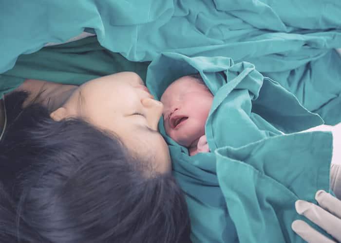 La copa menstrual después del parto
